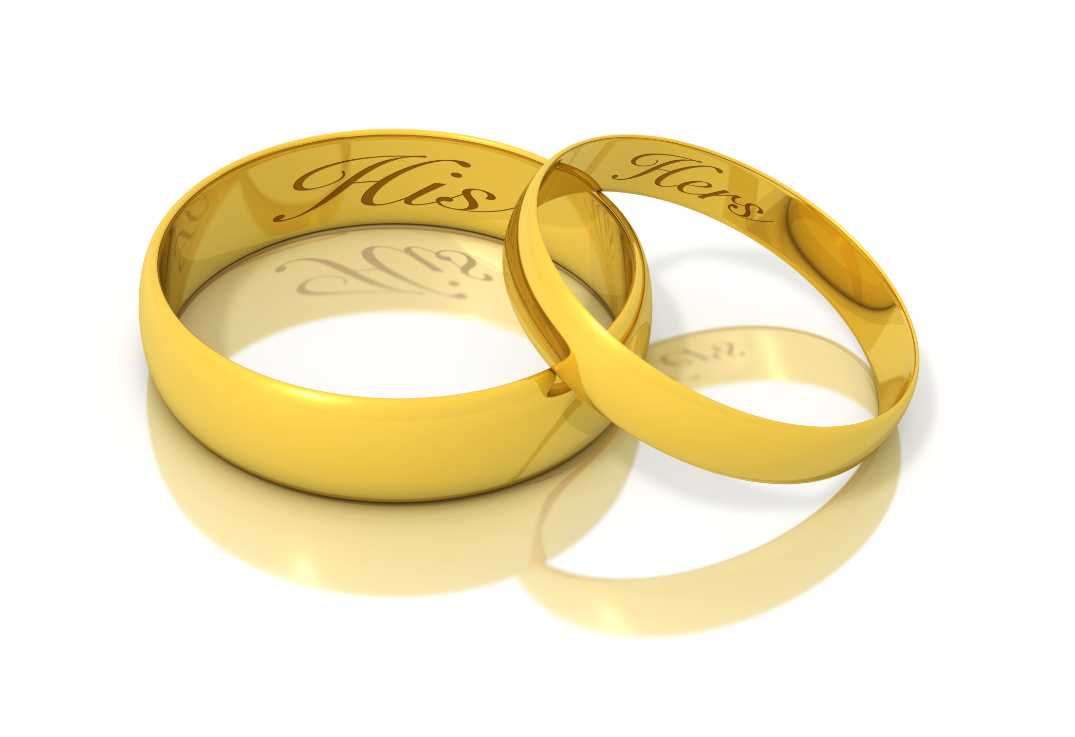 Gold Wedding Symbols